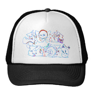Humo de la pintada esto gorras