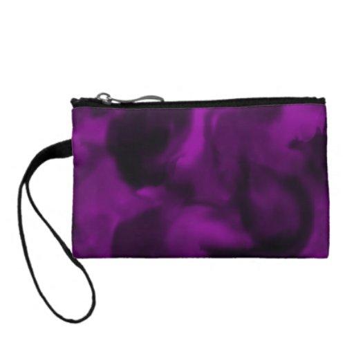 Humo de la púrpura del monedero