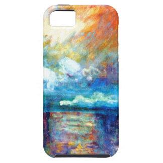 Humo de Monet en la niebla iPhone 5 Case-Mate Protector