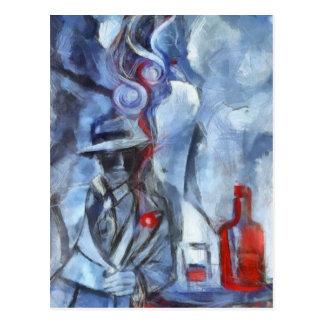 Humo de Tango Postcard