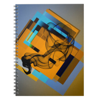 Humo en los bloques (i) libro de apuntes con espiral
