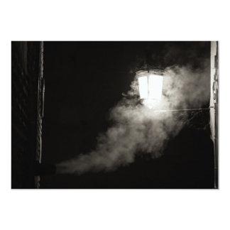 Humo nocturno invitación 12,7 x 17,8 cm