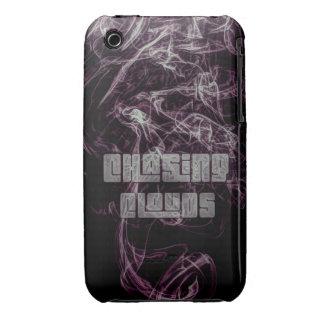 Humo que persigue las nubes iPhone 3 Case-Mate protectores
