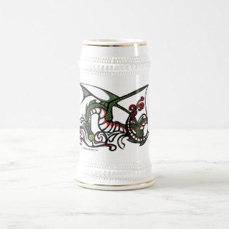 Humo Stein del dragón Jarra De Cerveza