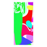 Humo verde diseño de tarjeta publicitaria