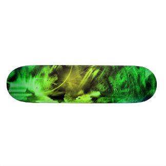 Humo verde patineta personalizada