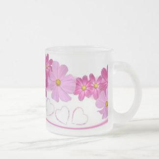 Humo/vidrio esmerilado tazas