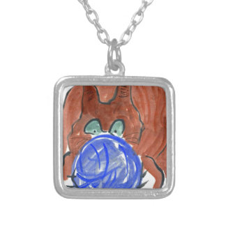 Humogus Yarn Ball & Tiger Kitten Jewelry