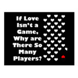 Humor about The Game of Love Post Cards