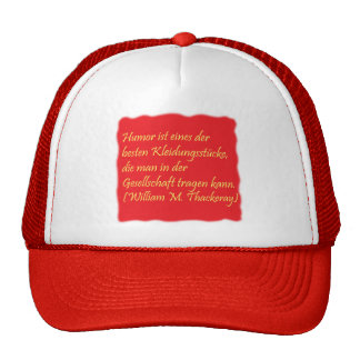 Humor and society trucker hat