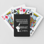 Humor ateo barajas de cartas