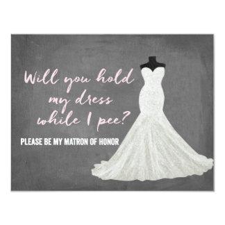 Humor Bride | Bridesmaid Card