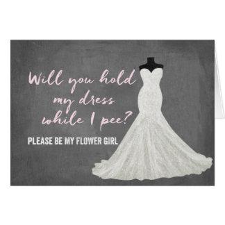 Humor Bride   Bridesmaid Card