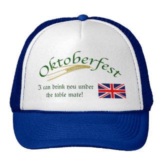 Humor británico/Oktoberfest Gorros