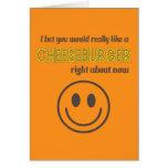 Humor caseoso tarjeta de felicitación