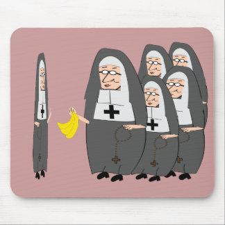 Humor católico hermanas gordas de la monja tapetes de ratón
