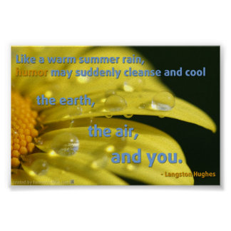 Humor Cleanse Quotation Poster