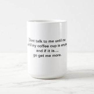 Humor coffee cup