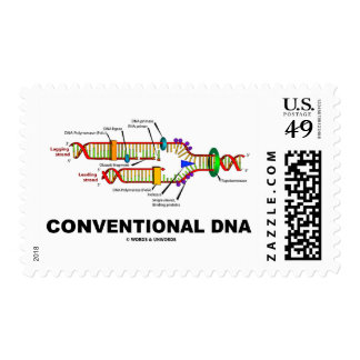 Humor convencional de la biología molecular de la estampillas