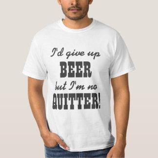 Humor de consumición de la cerveza divertida polera