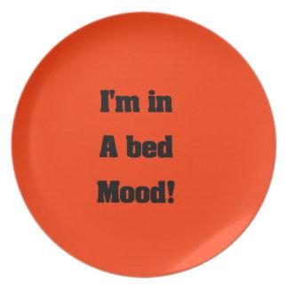 Humor de la cama platos
