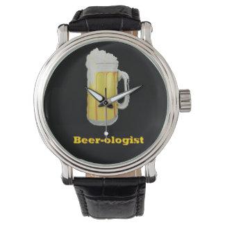 humor de la cerveza reloj