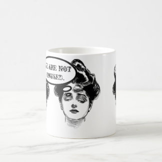Humor de la diva del Victorian Taza Clásica
