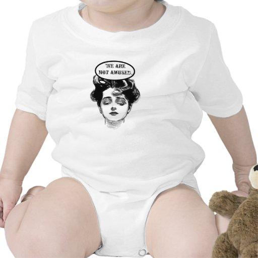 Humor de la diva del Victorian Trajes De Bebé