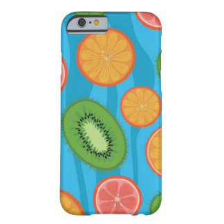 Humor de la fruta funda barely there iPhone 6