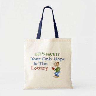 Humor de la lotería bolsas