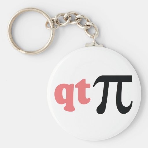 Humor de la matemáticas - camiseta linda pi llaveros personalizados