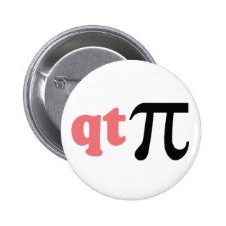 Humor de la matemáticas - camiseta linda pi pin
