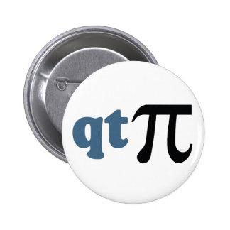Humor de la matemáticas - camiseta linda pi pins