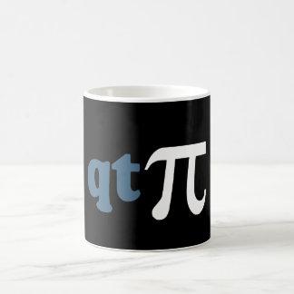 Humor de la matemáticas - camiseta linda pi taza clásica