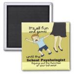 Humor de la psicología de la escuela (imán)