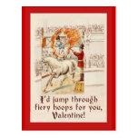 Humor de la tarjeta del día de San Valentín con ar Postal