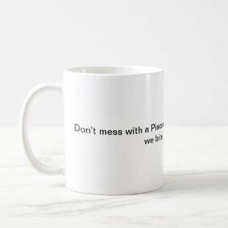 Humor de la taza de café de Piscis