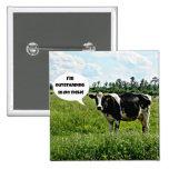 Humor de la vaca pins