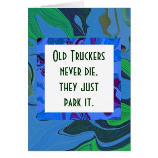 humor de los camioneros felicitación