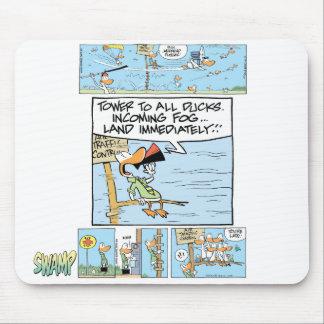 Humor de los controladores aéreos alfombrilla de raton