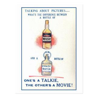 Humor de los licores del vintage (alcohol ilegal) tarjetas postales
