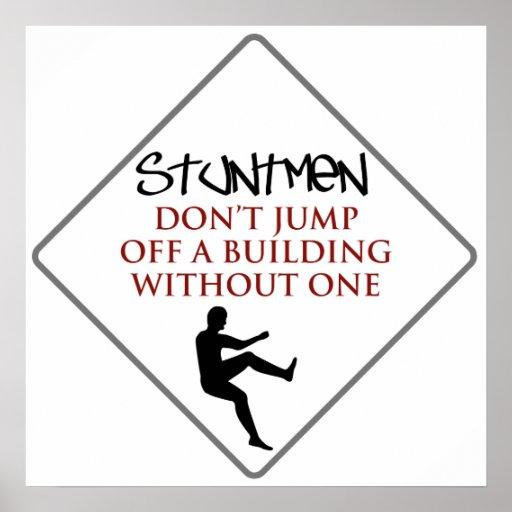 Humor de los Stuntmen Posters