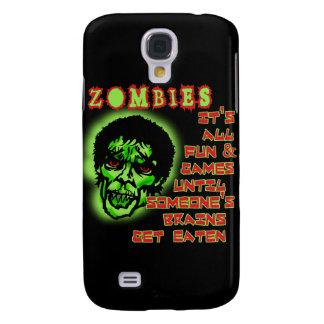 Humor de los zombis funda para galaxy s4