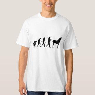 Humor de Politiclothes de la EVOLUCIÓN de Polera