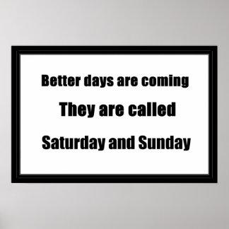 Humor de sábado y de domingo poster