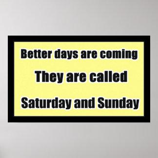 Humor de sábado y de domingo impresiones