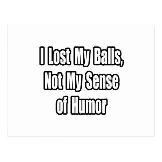 Humor del cáncer testicular postal