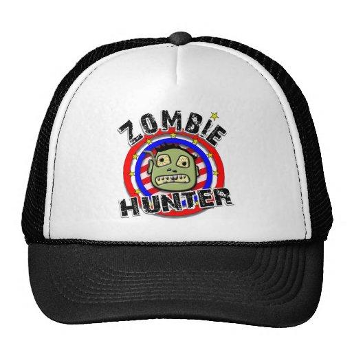 Humor del cazador del zombi gorro de camionero