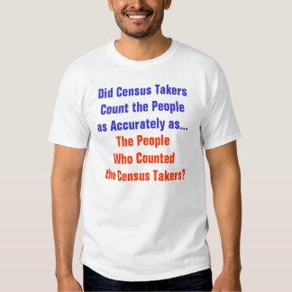 Humor del censo remera