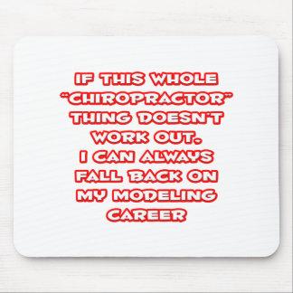 Humor del Chiropractor… que modela carrera Tapete De Ratones
